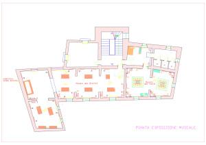 fig. 15 Pianta del Museo dei Brettii e del Mare