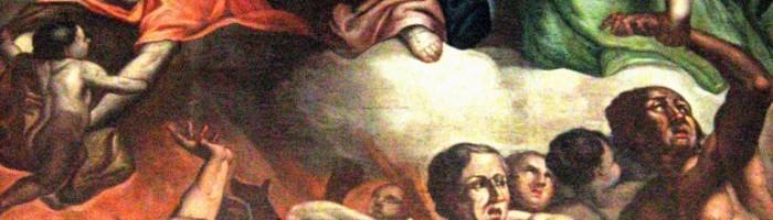 Francesco Basile,   Madonna col Bambino e anime del Purgatorioi