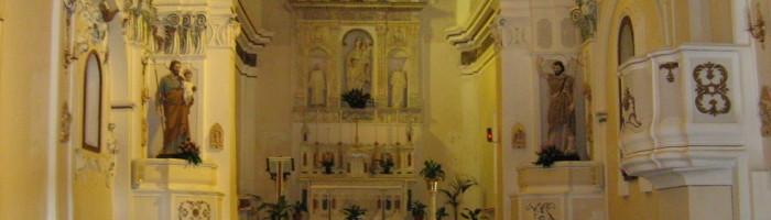 Chiesa di Santa Maria delle Grazie, interno
