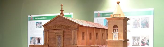 fig. 110 Palazzo Del Trono - Plastico Chiesa di San Benedetto