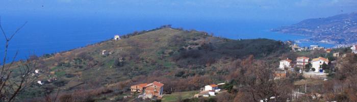 fig. 25 Veduta panoramica della collina della Serra-s