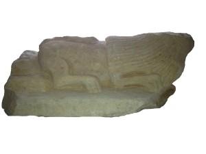 fig. 70 Leone in arenaria dal centro storico