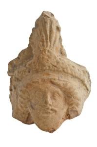 fig. 76 Testina di Zeus