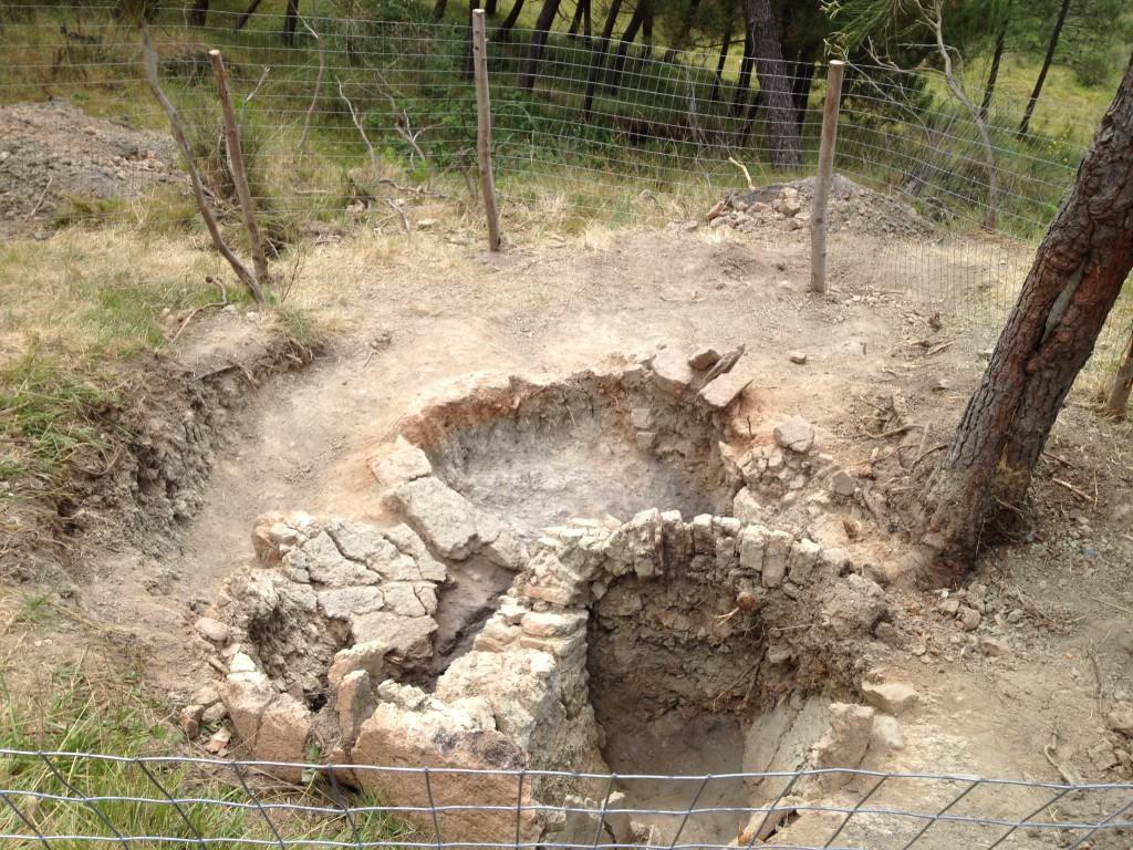 resti strutturali della fornace
