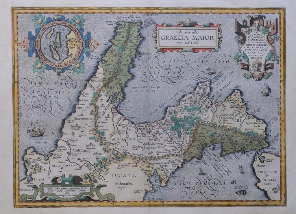 7-tav. VII-Itala nam tellus Graecia Maior... (1595)