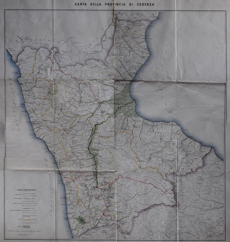 73-tav. LXXIII-Provincia di Cosenza (1861)