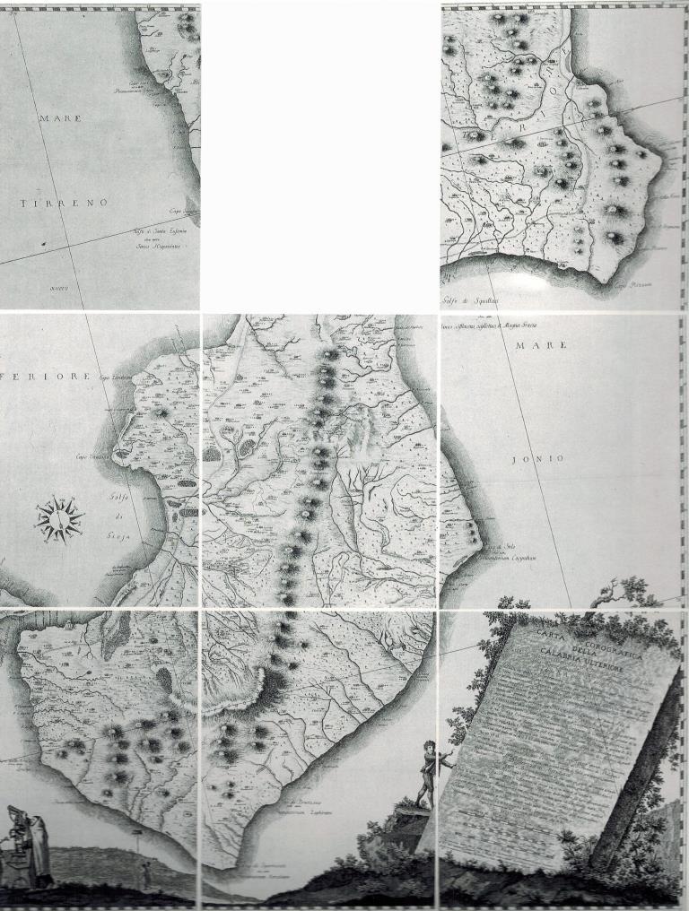 fig. 159-Carta corografica della Calabria (1784)