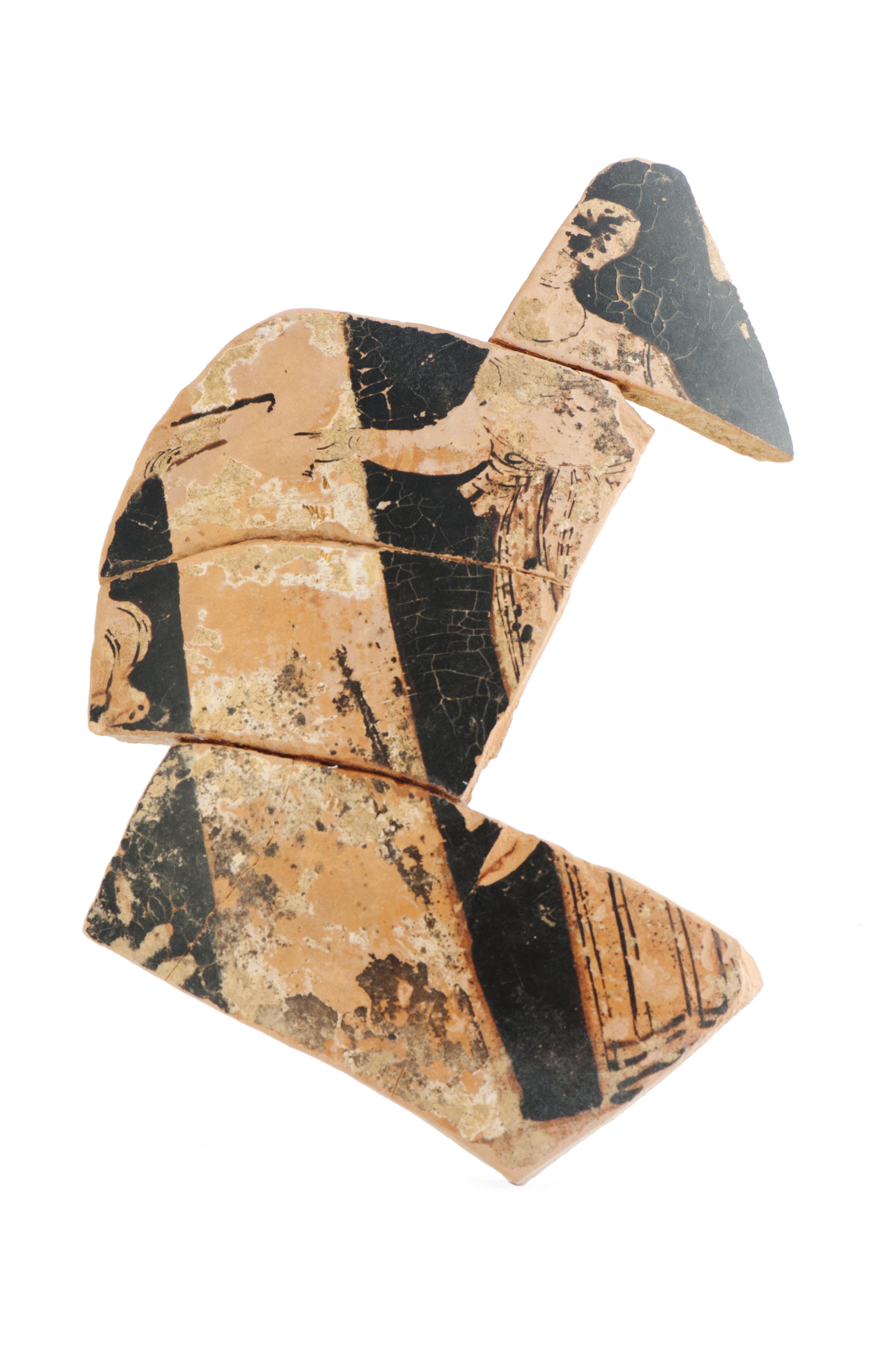 fig. 78 Frammento di anfora a figure rosse del pittore apulizzante