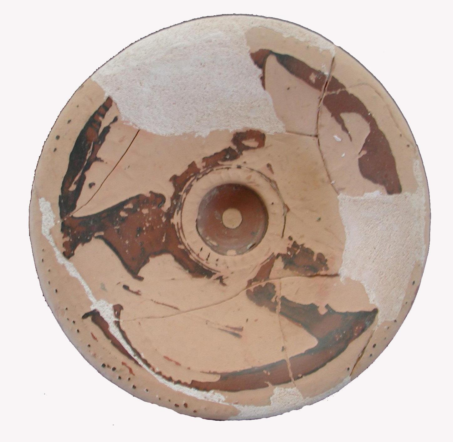 fig. 90 Il piatto da pesce da loc. Pantana di Belvedere