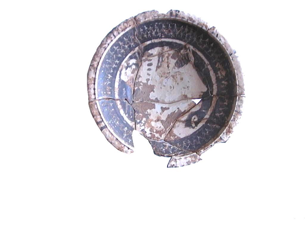 fig. 90 Piatto a figure rosse da Torrenova di Cetraro